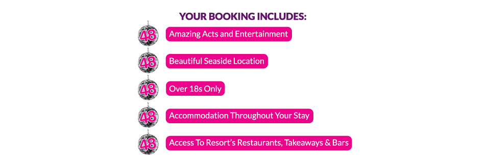 Your booking includes